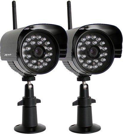 38% gespart. Funk-Überwachungskamera-Set mit 2! IR-Kameras AB 6.10 bei Real