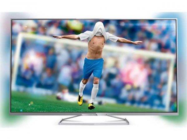 Philips 48PFK6609 (48 Zoll) 3D-LED TV mit Triple-Tuner, 400 Hz und Ambilight (idealo: ab 689€)