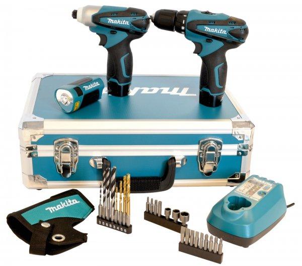 eBay WoW: MAKITA AKKU-COMBO-KIT 10,8 V LCT303X2 IM KOFFER MIT TD090, DF330D UND ML100 inkl. Versand 149 Euro