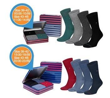 Tommy Hilfiger Unisex Socken in Geschenkbox Größe 43-46 nur 12,95€ (zzgl. Versand)
