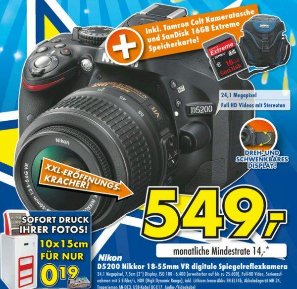 Nikon D5200 Nikkor 18-55mm VR Spiegelreflexkamera