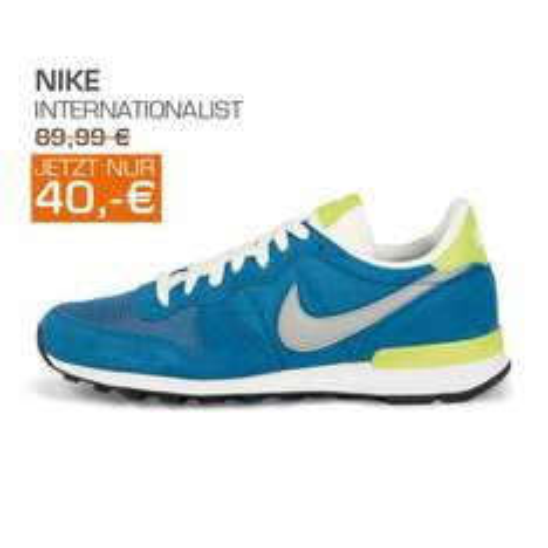 [Lokal Böblingen] Nike Internationalist und andere Angebote bei Neueröffnung von Snipes