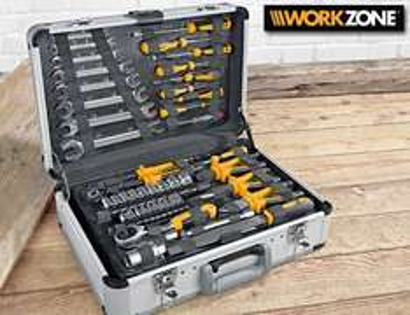 Workzone Werkzeugkoffer 101 Teile bei Aldi Süd ab 6.10.14