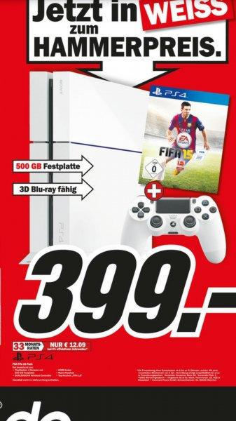 [Lokal Wuppertal ?]PS4 in weiß + Fifa15 für 399 €