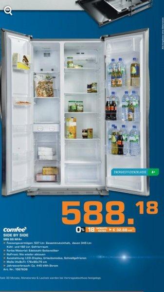 [Lokal Remscheid ] Side by Side Kühlschrank für 588,18 €