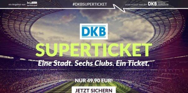 DKB-Superticket - Eine Stadt - Sechs Clubs - Ein Ticket (Berlin)