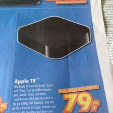 [lokal] Euronics XXL, Apple TV für 79€