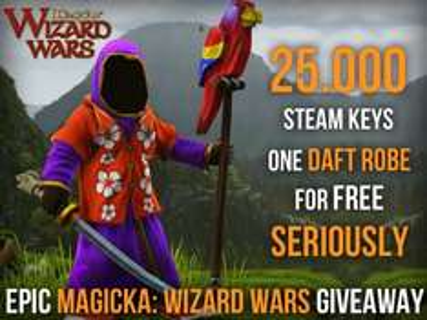 [Steam] Gratis DLC für Magicka: Wizard Wars [Daft Robe] [Facebook]