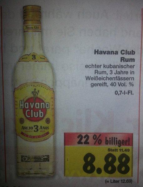 Havana Club 3 Jahre bei Kaufland Halle (Saale) (Deutschlandweit?Lokal?) 8,88 €