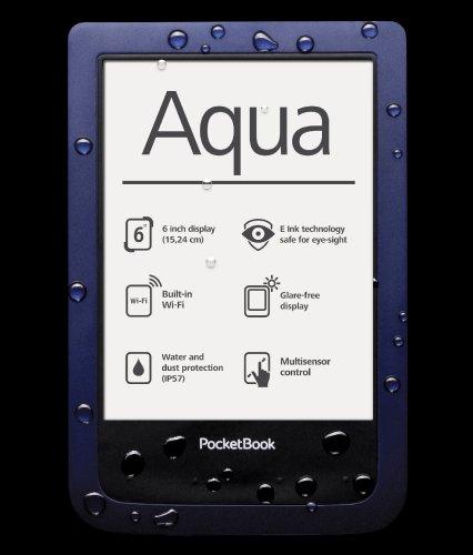 PocketBook Aqua blau inkl. original PocketBook Cover