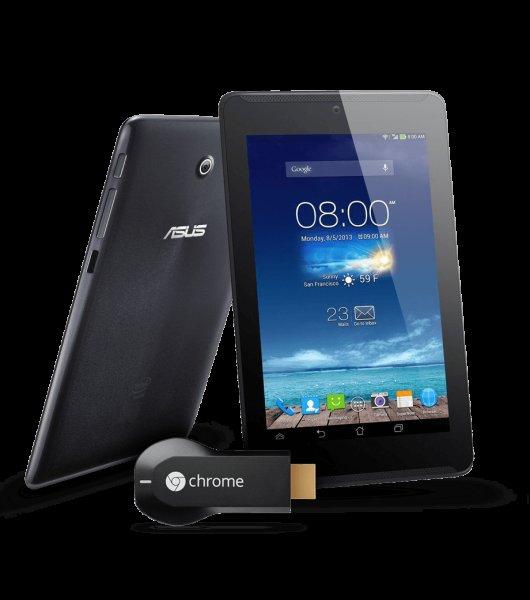 ASUS Fonepad 7 (99€) + Chromecast Bundle für 129€ | ~45€ Ersparnis