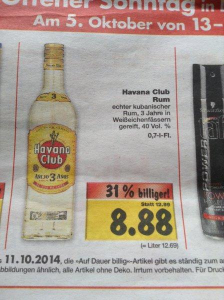 (lokal) Havana Club Rum Kaufland Duisburg-Aldenrade