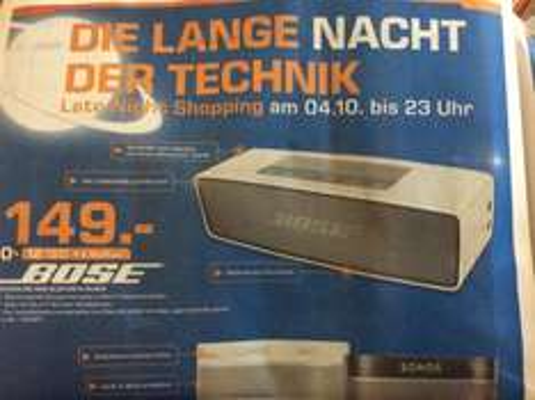 Bose Soundlink Mini Bluetooth Lautsprecher (Saturn Heidelberg)