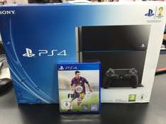 Playstation 4 500GB + FIFA 15 @ebay.de/saturn Outlet für 359€