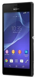 "Sony™ - Smartphone ""Xperia M2"" (4.8"" 960x540,8MP/AF/LED Cam,8GB,NFC,LTE,Android 4.3) in Schwarz für €169.- [@Base.de]"
