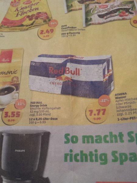[Lokal?, Chemnitz Penny ] Red Bull für 65 ct/Dose vom 02.10 - 04.10