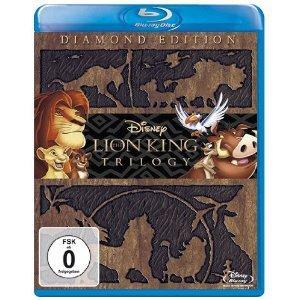 Der König der Löwen - Trilogie - Diamond Edition [Blu-ray]