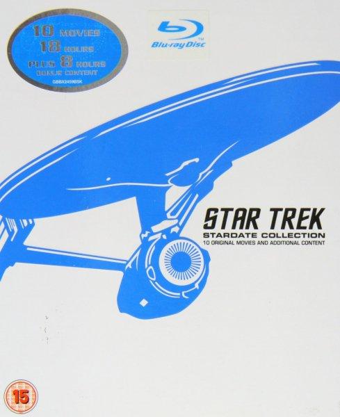 [amazon.uk] Star Trek: Stardate Collection [Blu-Ray] - The Movies 1-10 (12 Discs) für ca. 51 ( dt. Tonspur) Knallerpreis!