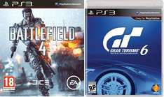 Gran Tourismo 6, Battlefield 4 PS3 LOKAL MM SPEYER