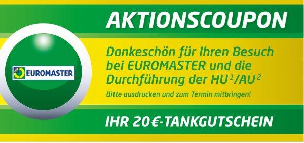 20€ Tankgutschein für PKW Hauptuntersuchung bei Euromaster