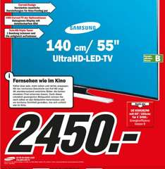 [Media Markt in Wiesbaden] Samsung Curved TV UE 55 HU 8290
