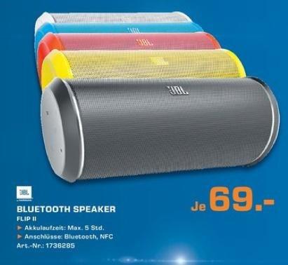 [Lokal Saturn Hürth] JBL Flip 2 Portabler bluetooth Lautsprecher