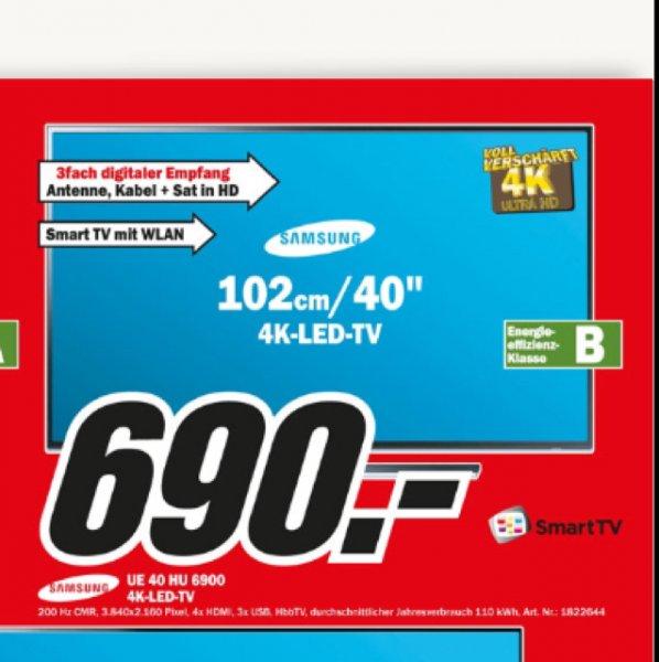40 Zoll 4K TV von Samsung in den Wiesbadener Media Märkten