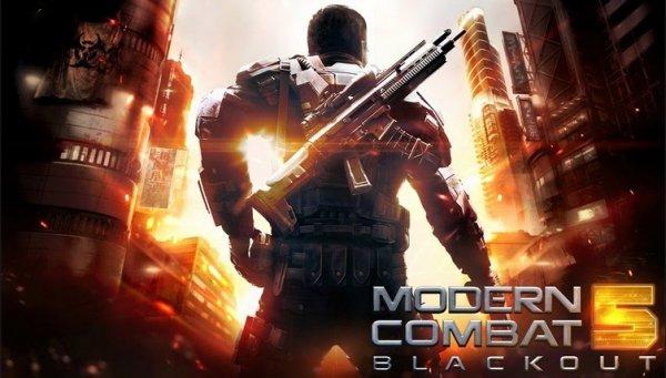 [iOS] Modern Combat 5: Blackout für iPhone und iPad für nur 3,59 Euro - statt 5,99 Euro!