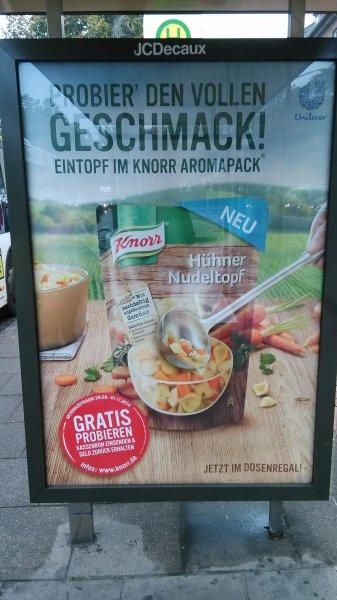 Knorr Hühner Nudeltopf testen