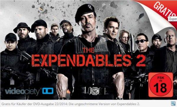 Expendables 2 (FSK 18)(Uncut) Gratis Download bei Kauf des Computerbild E-Paper
