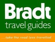 35% Rabatt bei Bradt Travel Guides auf ausgewählte Reiseführer