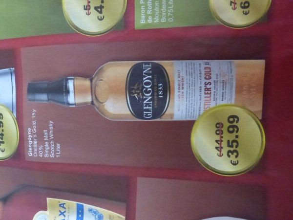 (LOKAL][Travel FREE Polen] Glengoyne 15 Jahre Distiller's Gold 1l Flasche