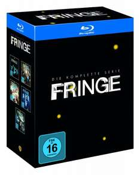 [amazon.de] Fringe - Die komplette Serie (20 Discs) (exklusiv bei Amazon.de) [Blu-ray] für 66,66 €