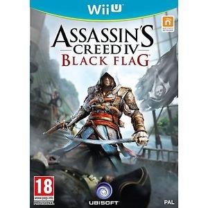 Assasincs Creed IV Black Flag Wii U 14,99€ kostenloser Versand