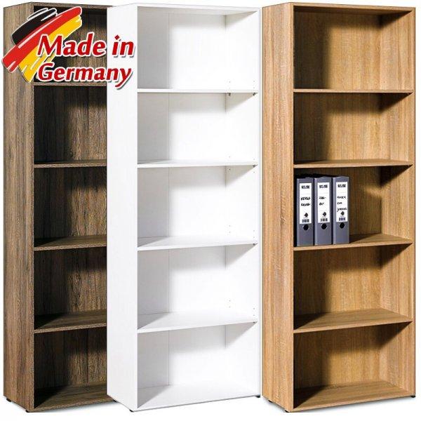 Wieder als ebay WoW: Bücherregal NOLTE REGAL Schrank Wandregal Holzregal Büroregal Aktenregal MDF für 29,95 192cm hoch / 30er Tiefe