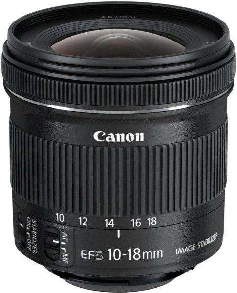 [redcoon] Superweitwinkelzoom-Objektiv Canon EF-S 10-18mm (4.5-5.6 IS STM) für 245€