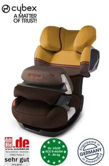 CYBEX Kindersitz PALLAS 2 (ohne Isofix) in Farbe Candied Nuts-brown @Baby-Community.com