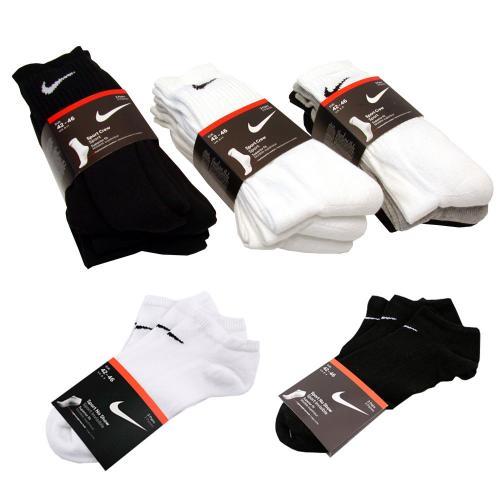 6 Paar Nike Socken (Sneaker/Normal) für 12,99€ inkl. Versand