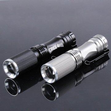 (Ebay China) Wasserabweisende Cree Q5 Taschenlampe mit 600 Lumen für 2,80