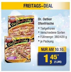 [METRO] Die Ofenfrische am Fr. 10.10 für 1,55 Euro statt 2,59 Euro
