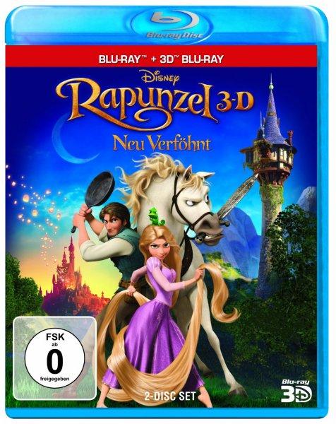 13,86 € (+Versand), Amazon: Rapunzel - Neu verföhnt Bluray 3D (+2D)
