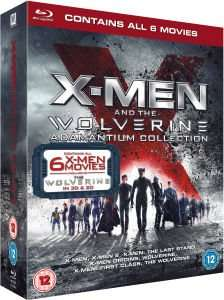 (UK) X-Men and The Wolverine Adamantium Collection (Includes UltraViolet Copy) Blu-ray für 25.99€ @ Zavvi