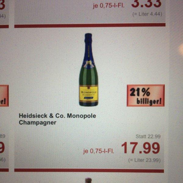 [Kaufland] Heidsieck & Co. Champagner Premium Drink