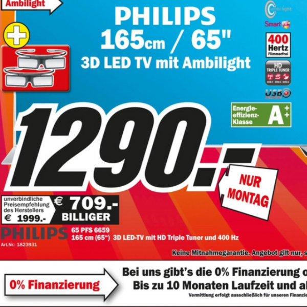 Phillips 65 pfs 6659 - 1290€ - nur Montag - Saturn Ludwigshafen