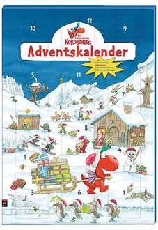 Der kleine Drache Kokosnuss Adventskalender @Amazon whd