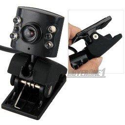 USB 6 LED Webcam 8.0Mio pixel 16 Effeckte +Mic+Nachtsicht 5,29€ inkl. Versand