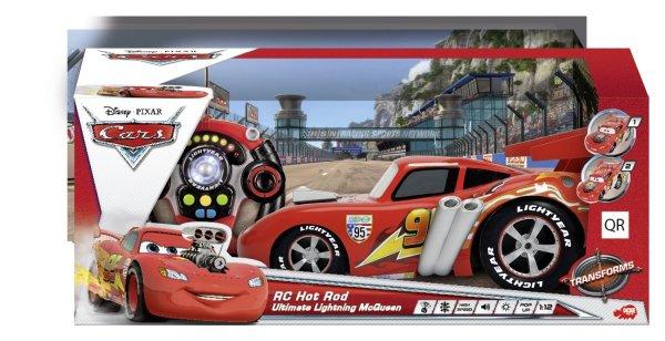 Dickie RC Disney Cars, Hot Rod Ultimate McQueen, 3-Kanal Funkfernsteuerung, rot 35,39€ inkl. Versand / Idealo ab 62,08€
