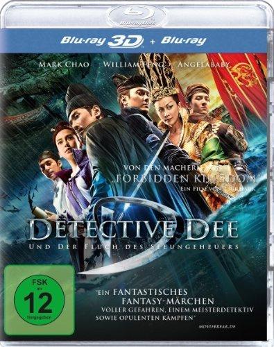 [Amazon Prime]  Detective Dee und der Fluch des Seeungeheuers (inkl. 2D-Version) [3D Blu-ray] für 8,97€