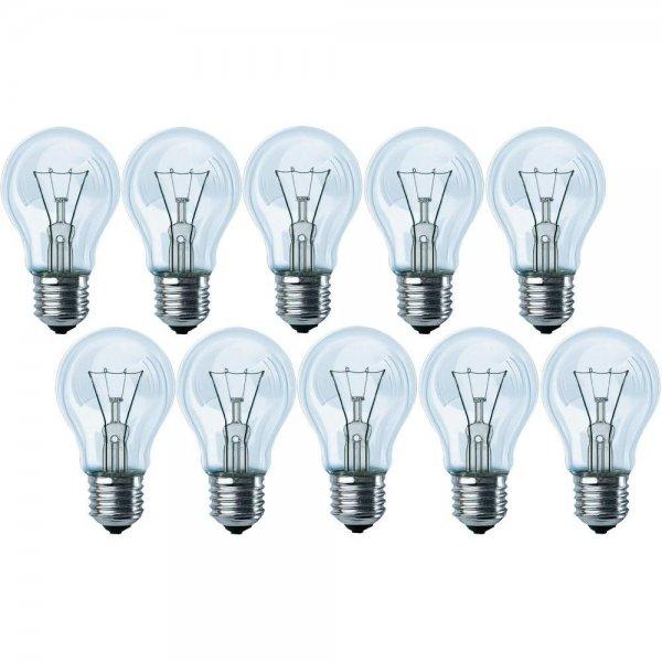 [Offline] Philips Glühlampen 10er Pack, E27? 60W