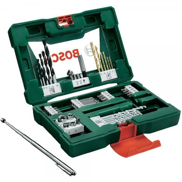 Bosch V-Line Titanium-Bohrer- und Bit-Set mit Magnetstab, 48-teilig für 18,99€ @ebay